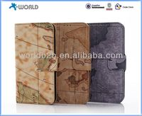 Wallet Stand PU Leather Case for Samsung Galaxy S5 i9600