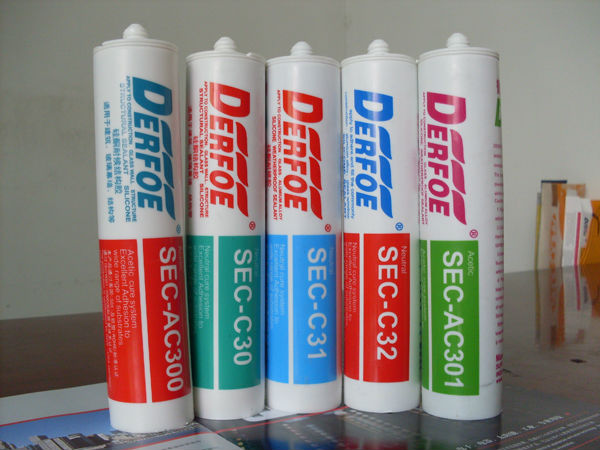 All purpose glass silicone sealant,fast cure factory supply