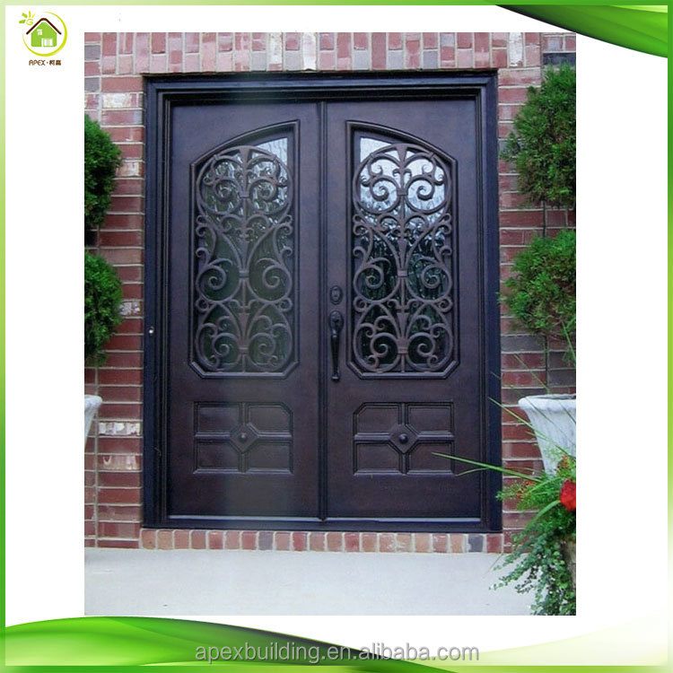 Delightful Sliding Double Door Iron Grill Design Wrought Iron Main Gate   Buy Sliding  Door Iron Main Gate,Iron Grill Design,Iron Main Gate Product On Alibaba.com