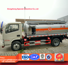 5CBM 4X2 DongFeng mini oil tanker truck, fuel tanker truck for sale