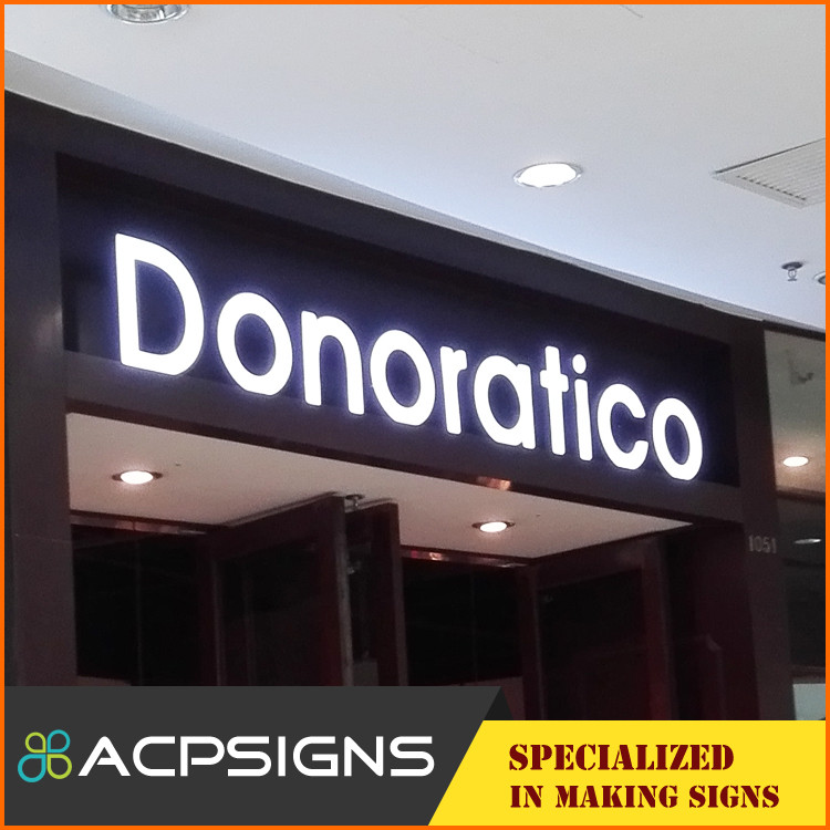 Custom made led sign office signage, company logo and shop sign