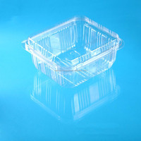 plastic packaging clamshell fruit and vegetable container