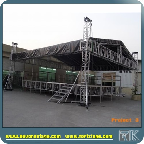 LED display truss support,ground support truss system
