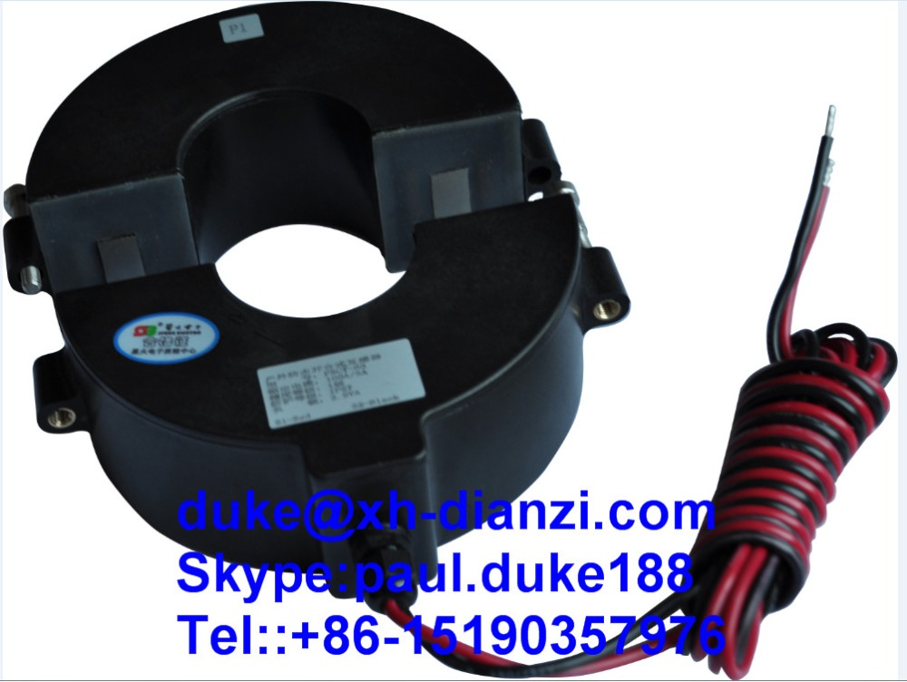 500A/5A IP67 Outdoor Waterproof Split Core CTs Clamp On Current Transformer