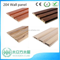 WPC 3d leather wall panel, ready made walls