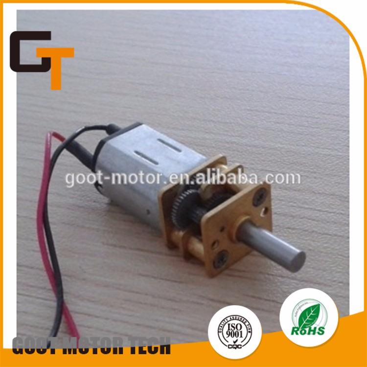 Hot selling dc gear motor 6v with low price