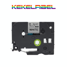Black on White Label Tape tze231 Compatible Brother TZ 231 TZe 231 for P-Touch 12mm