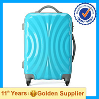 Blue Luggage Bags Cases Waterproof Suitcases