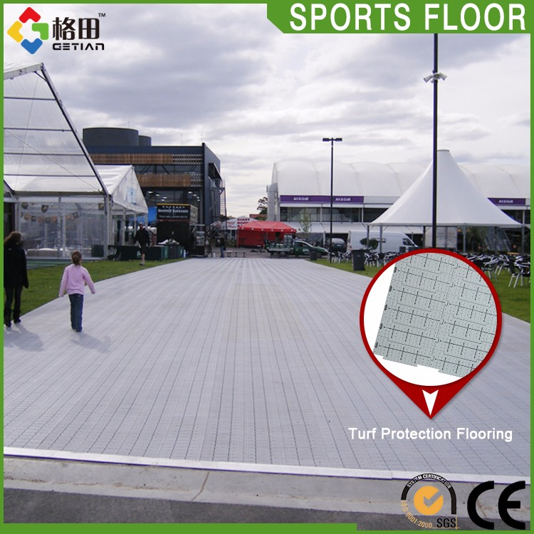 CE Standard High-strength portable temporary plastic interlocking floor