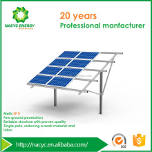 PV Product /Solar Tracking Bracket/ Single Pole Ground Mounting Solar Bracket System