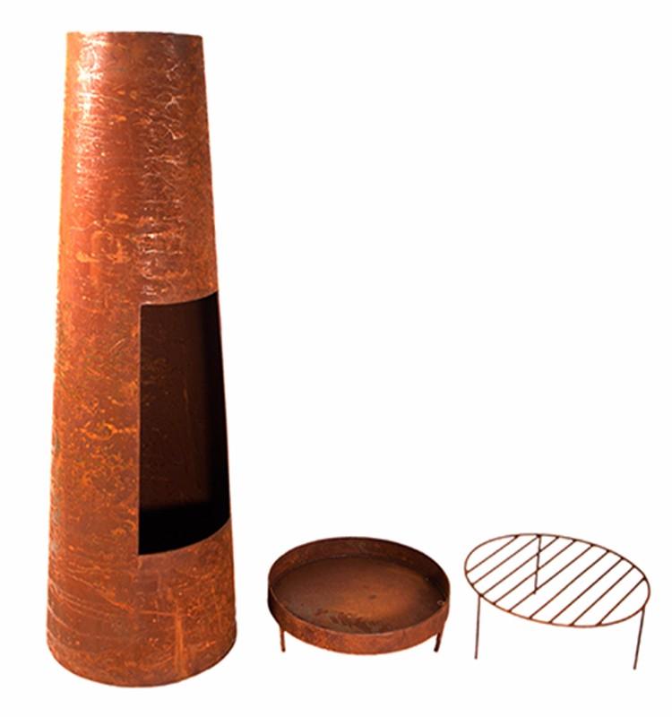 Esschert 디자인 야외 정원 금속 나무 굽기 벽난로-불 구덩이 -상품 ...