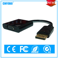 China best selling male to female DP to VGA(F) adapter
