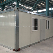 Sandwich Panel Flat Pack Prefab Container Homes with Bathroom