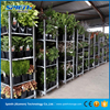 Greenhouse Transport Foldable Metal Flower Trolley