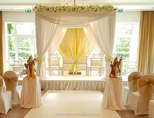 Pipe and drape curtains backdrop indian wedding mandap