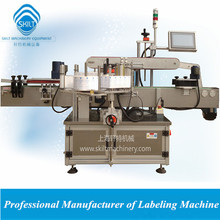 Automatic wine bottle front and back sides labeling machine 0086-18917387699