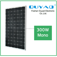 156*156 cell 300W mono Chinese home solar panels