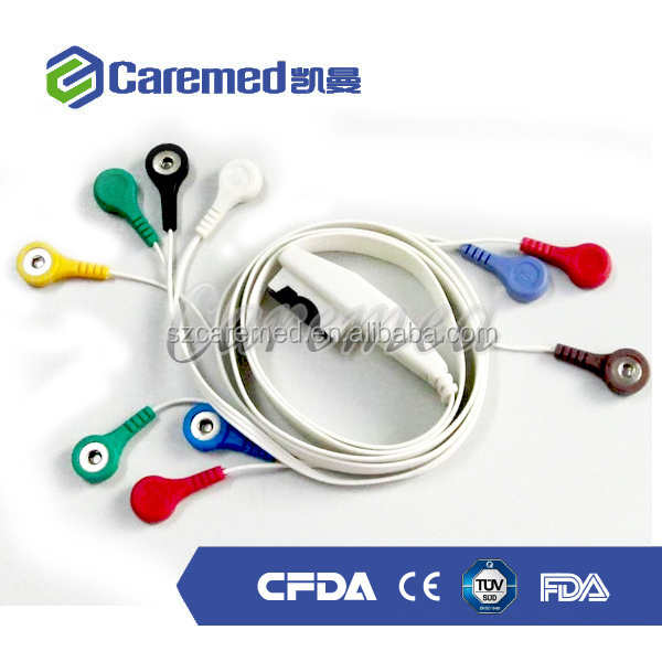 DMS 3000 holter ecg cable