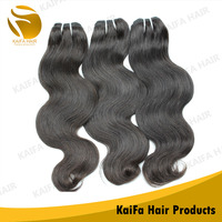 Human Remy Hair Weft Indian Hair Natural Wave