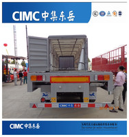 CIMC 3 Axles 40 Tons Van Type Semi Trailer/Box Trailer For Sale