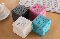 Levitating Portable Laptop Mini Magic Cube Bluetooth Speaker
