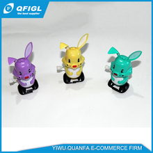 Custom plastic animal toys for kids, Rabbit clockwork toy