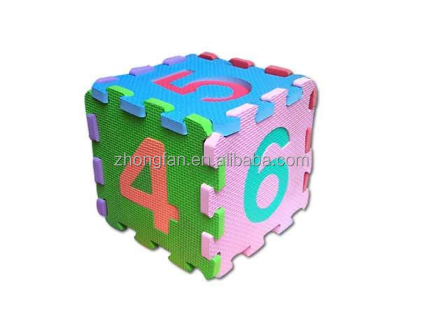 EVA Foam Cube Box 3D Jigsaw Puzzles Children's Intelligent Toys