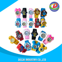 Factory price cheap silicone slap watch , kids slap watch , slap watch