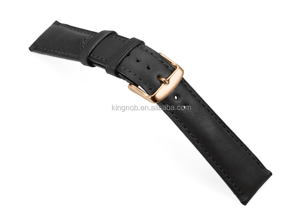 Wholesale 18mm 19mm 20mm 21mm 22mm Handmade Wrist Quick Release Watch Band Genuine Leather Watch Strap