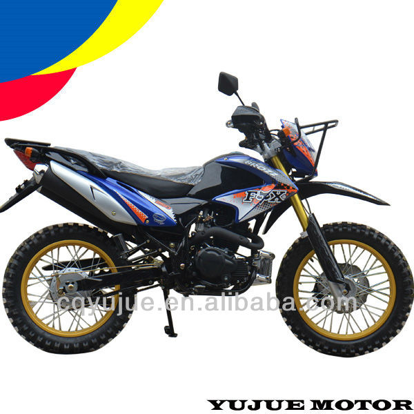Brazil CG250cc dirt bike with double muffler