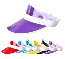 New Design Fashion UV Protection Plastic Sun Visor Hat