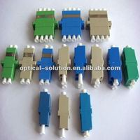 LC fiber optic adaptor SX, DX, SM, MM optional