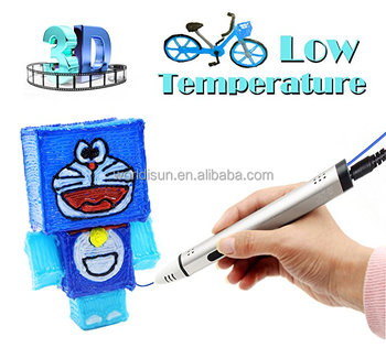 3D Printing Pen With OLED Display, USB Charging 3D Printer Pen For Kids, Free PCL Filament For 3D Pen