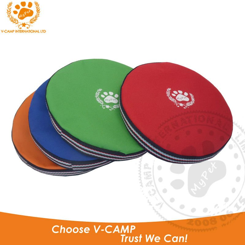My Pet 600DPolyester Outdoor dog Frisbee