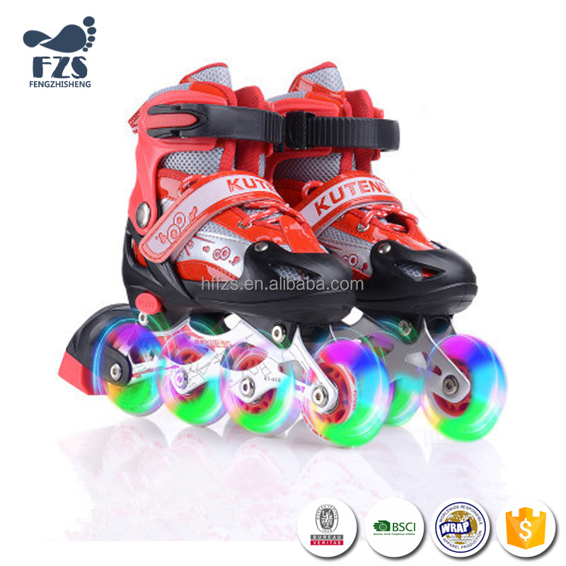 HFR-HFS1687 Popular Roller blade Skate Shoes with wheels For Grils Sneakers
