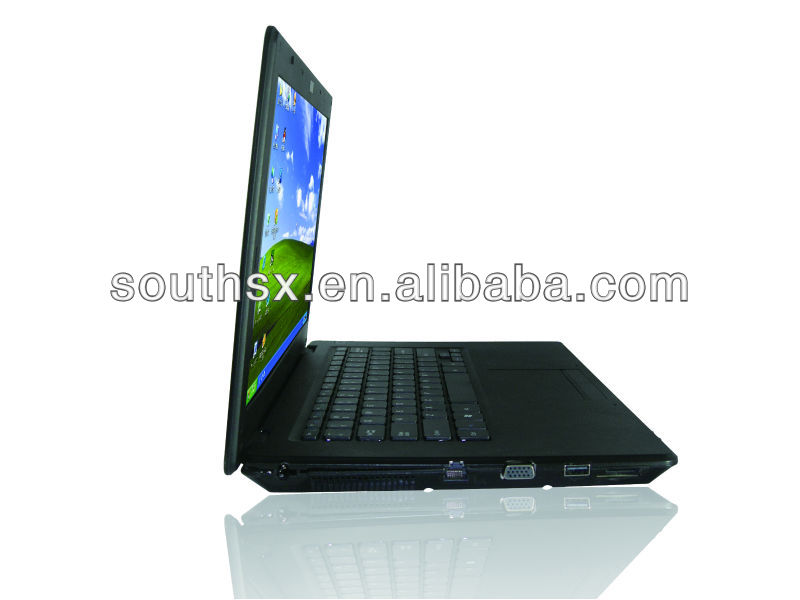 14 inch Intel Dual core with DVD R/W drive china import laptos /netbook
