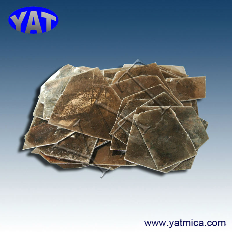 China Manufacturers NO. 5 clear natural mica transparent thermal insulation sheets