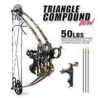 Fiberglass body and nylon handle hunting Compound Bow M109 for sale,