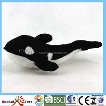 "6.5"" hot salesoft polyester stuffed toys whale toy"