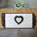 Wooden Laser Cut with Heart High Quality Ideal Products Wedding Cards