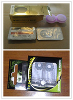 Custom Packing Contact Lens / Box Packing / Lenses in Stickers