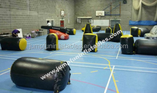 Top quality Inflatable laser tag bunker/Inflatable bunkers for paintball games