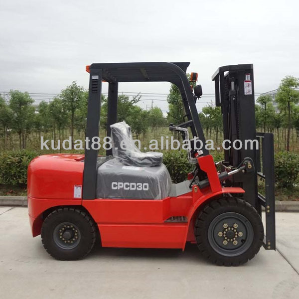 CPCD30 3tons Diesel Forklift Truck with Japan C240PKJ engine