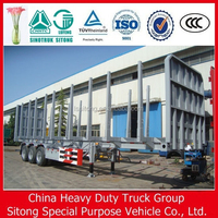 Sitong Factory Wood Transport Low Loader