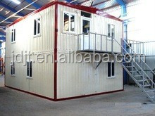 Recycle easy assembly low cost light steel structure prefabricated mobile home