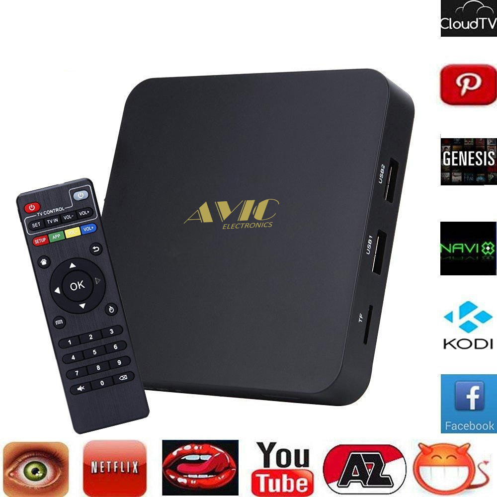 Hot Selling Digital Smart full hd 1080p video android tv box 4.4 hd pron v