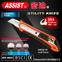 ASSIST retractable knife collections for sale cutter utility knife of chinese manufacturer