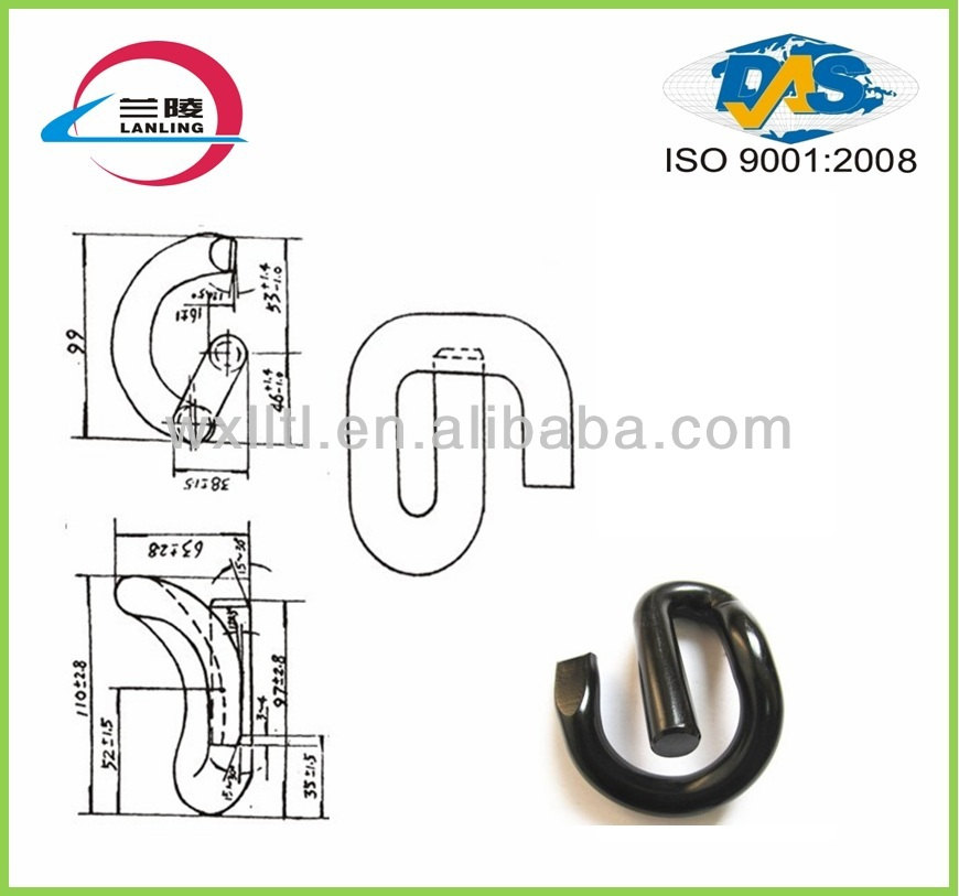 Railway small metal fasteners