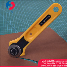 28 MM Straight Handle Rotary Knife Cutter Papper Leather Fabric Rotary Cutter
