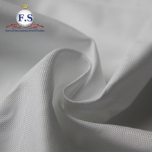high end shirt fabric/ royal oxford 100% white cotton fabric